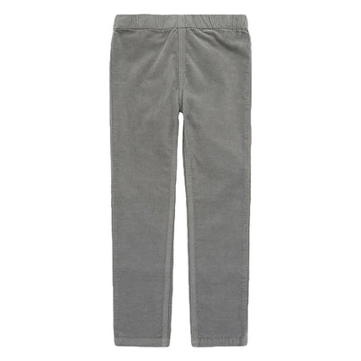 Bonton Child Melvil Velour Leggings Clay Grey