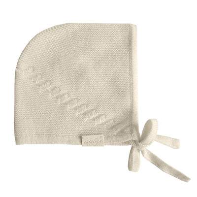 Cataleya Baby Barbara Cashmere Bonnet Cream