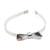 Olilia Hard Hairband Metallic Silver