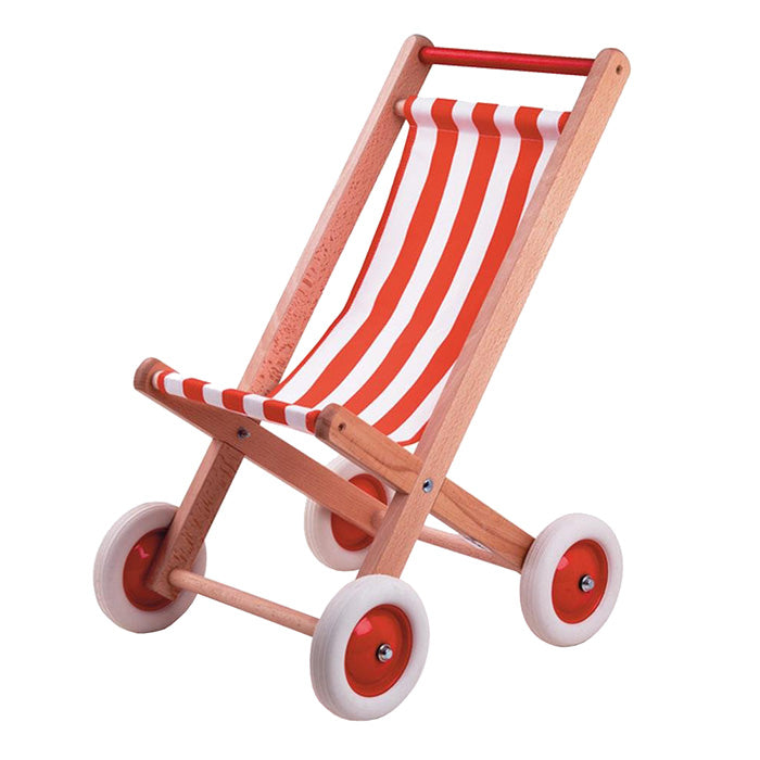 Egmont Doll Stroller Chair Red