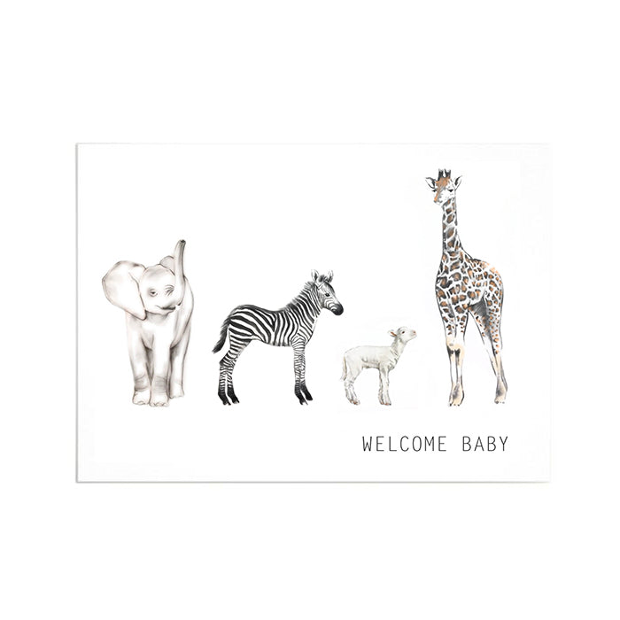 Elizabeth Dyer Cards Welcome Baby