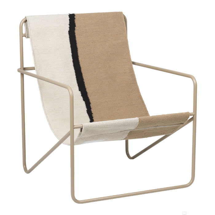 Ferm Living Desert Lounge Chair Cashmere Beige