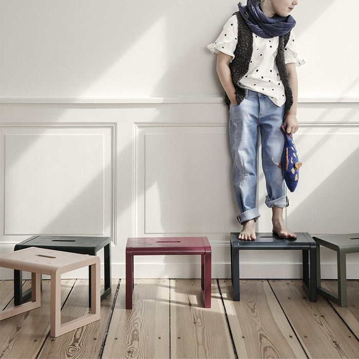 Ferm Living Little Architect Stool Grey