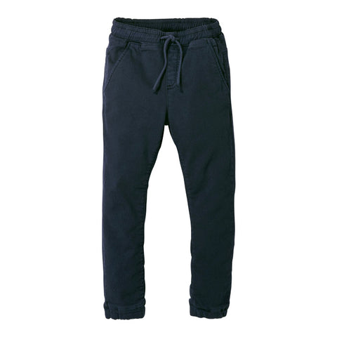 Finger In The Nose Baby And Child Longbeach Woven Jogging Pants Super Navy