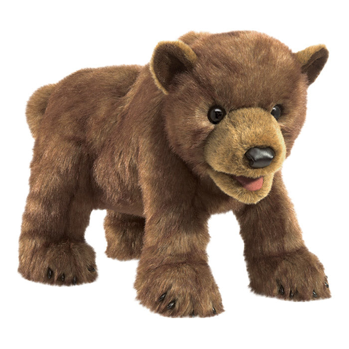 Folkmanis Brown Bear Cub Puppet - Advice from a Caterpillar