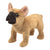 Folkmanis French Bulldog Puppet - Advice from a Caterpillar