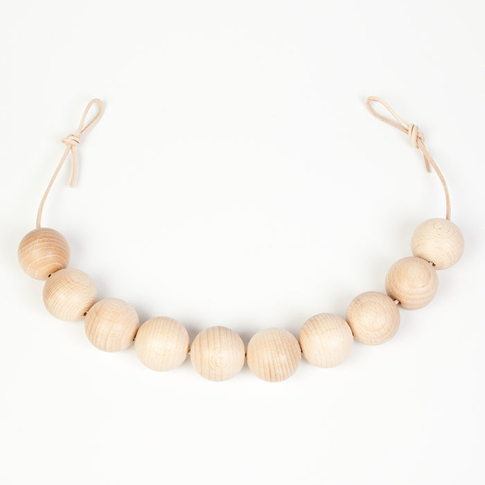 Grapat Natural Wooden Garland Balls