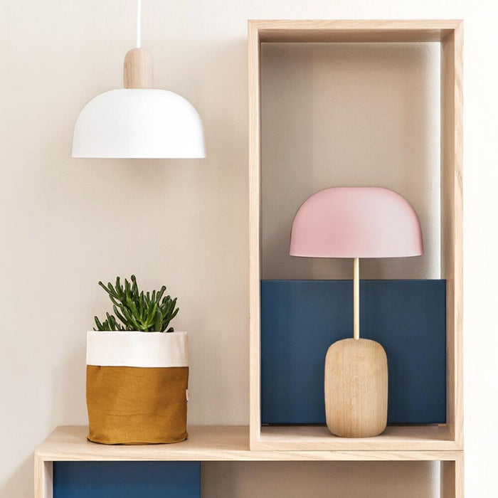 Hartô Paris Nina Table Lamp With Pink Shade