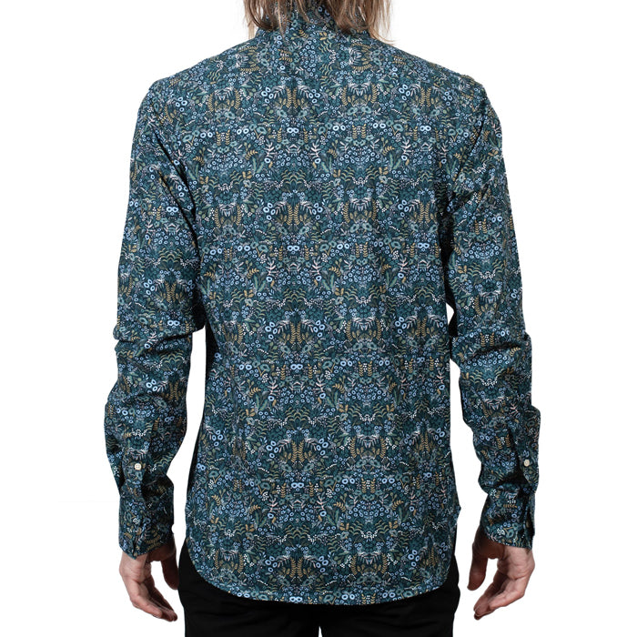 18 Waits Man Dylan Long Sleeved Shirt Winter Floral