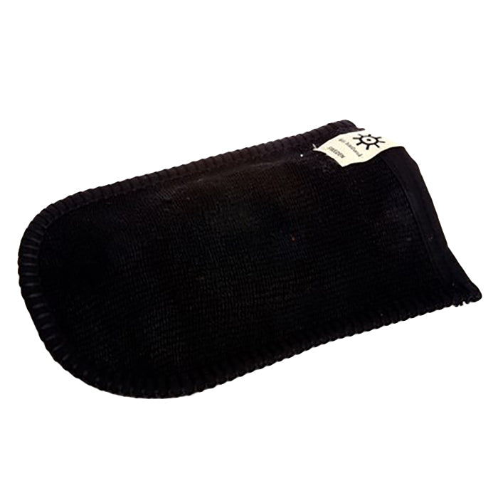 Iris Hantverk Goat Hair Washing Mitt Black