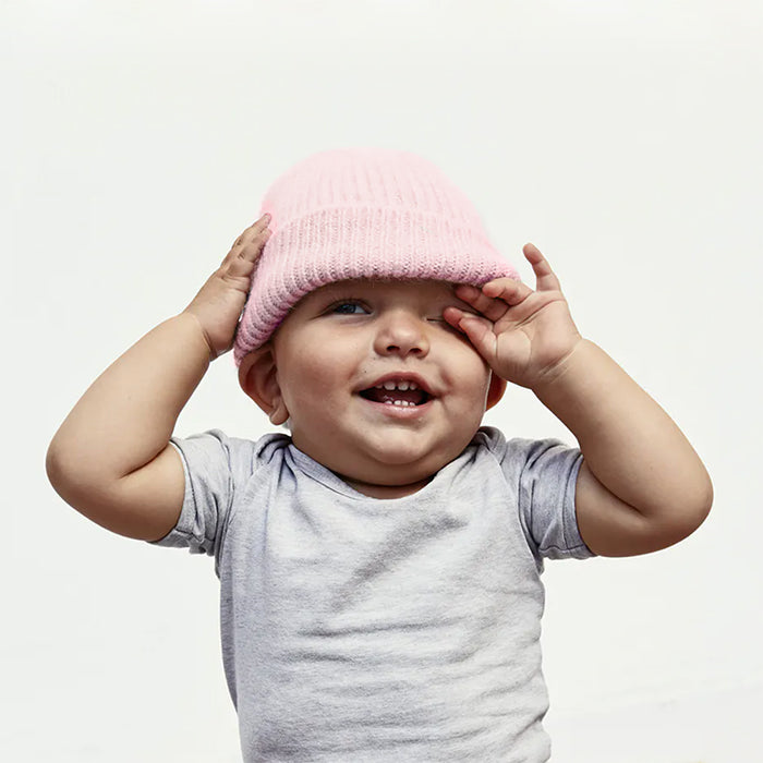 Le Bonnet Child Beanie Blush Pink