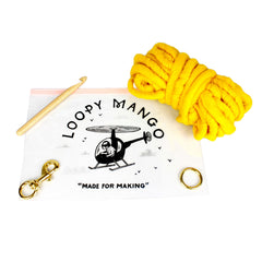 Loopy Mango DIY Kit Dog Leash Large Charcoal - Advice from a Caterpillar