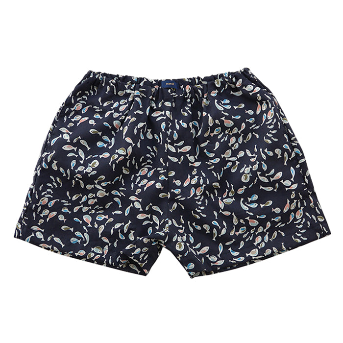 Makie Baby And Child Hugo Shorts Fish Print
