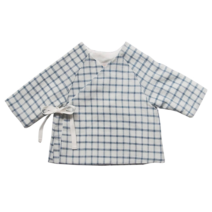 Makie Baby Mille Jacket Blue Gingham