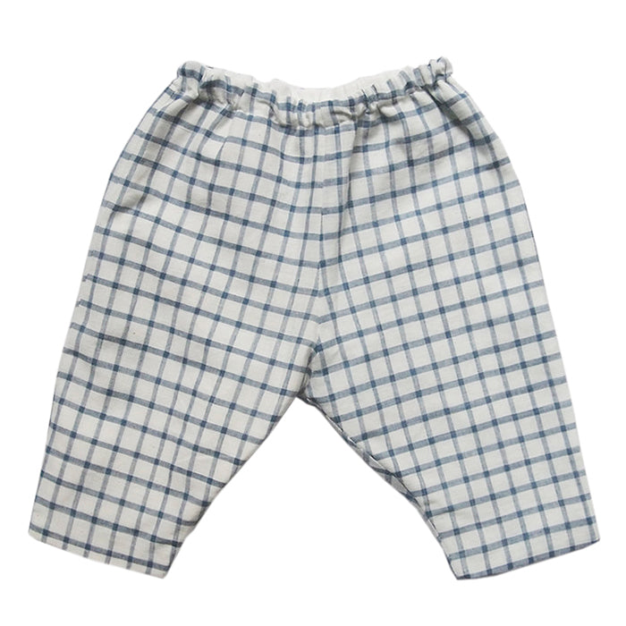 Makie Baby Mille Pants Blue Gingham