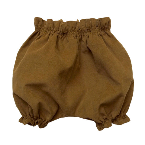 Makie Baby Corduroy Bloomers Mustard Yellow