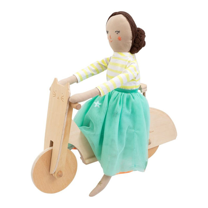 Meri Meri Cat Moped Doll Accessory