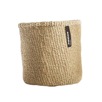 Mifuko Paper And Sisal Basket Brown X-Small