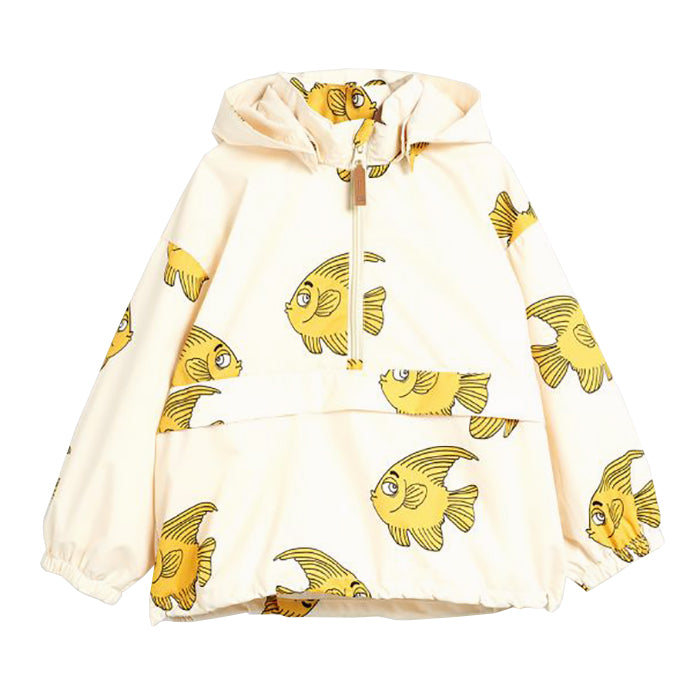 Mini Rodini Baby And Child Fish Rain Jacket