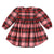 Morley Child Kenzie Dress Clan Peony Pink Plaid