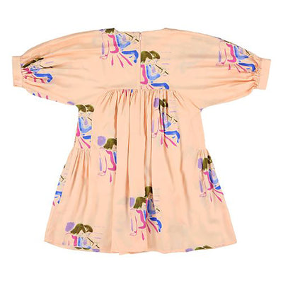 Morley Child Maude Dress Cactusflower Pink