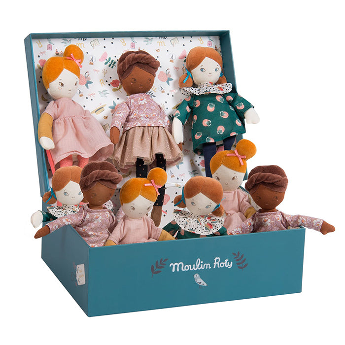 Moulin Roty Les Parisiennes Mini Mademoiselle Rose Doll