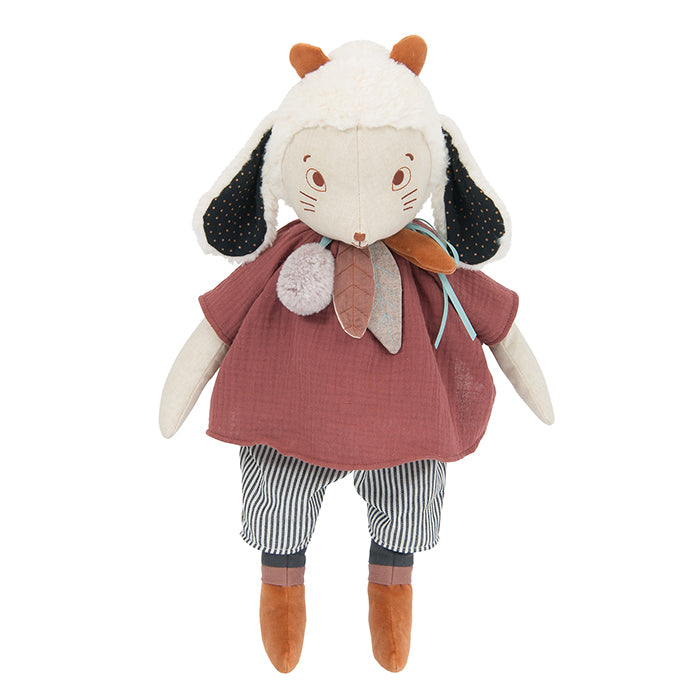Moulin Roty Aprés La Pluie Fenouil The Sheep Soft Toy