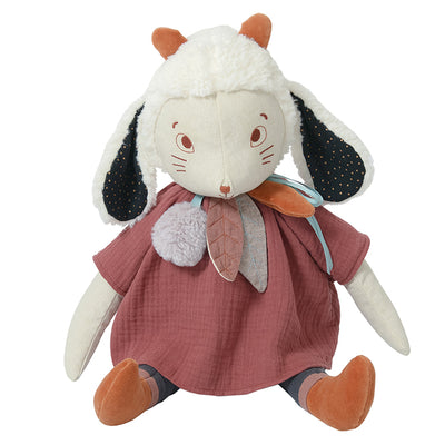 Moulin Roty Aprés La Pluie Fenouil The Sheep Soft Toy + Optional Custom Hand Embroidery