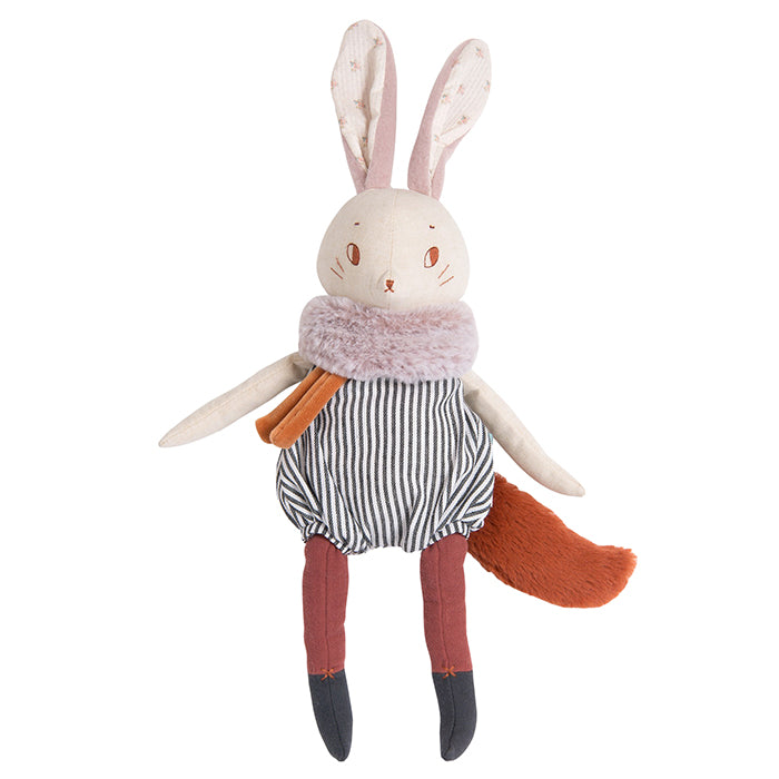 Moulin Roty Aprés La Pluie Plume The Rabbit Soft Toy