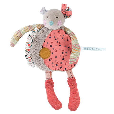 Moulin Roty Jolis Trop Beaux Mouse Cuddle Toy Large