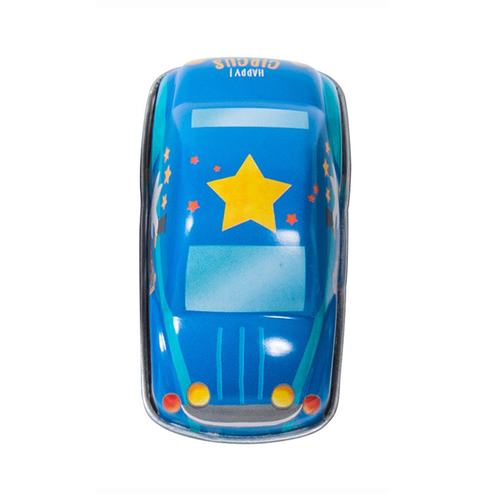 Moulin Roty Les Jouets Metal Pull Back Car Blue