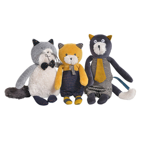 Moulin Roty Les Moustaches Lulu The Cat Soft Toy