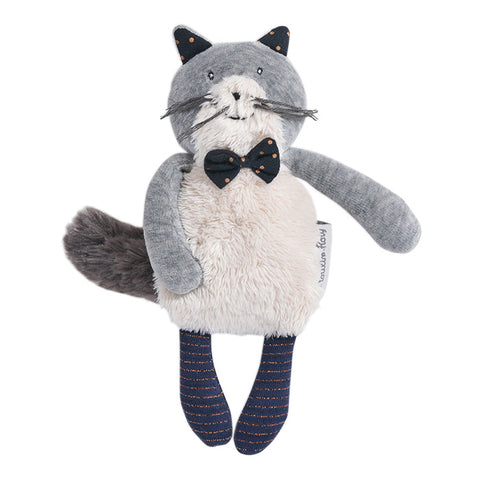 Moulin Roty Les Moustaches Fernand The Cat Soft Toy Small