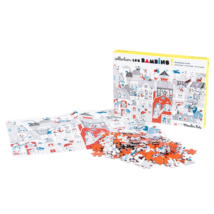 Moulin Roty Les Bambins In The City Jigsaw Puzzle