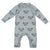 Moumout Paris Baby Fernand Jumpsuit Cool Blue With Simba Print