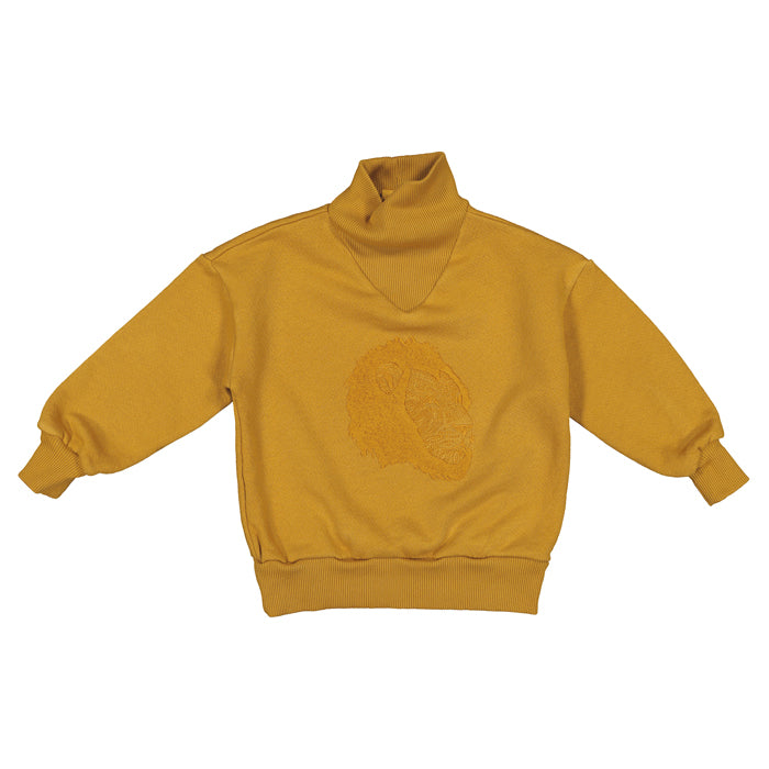 Moumout Paris Child Regis Sweatshirt Yellow