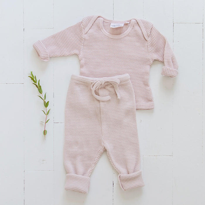 Moumout Paris Baby Honeycomb Two Piece Set