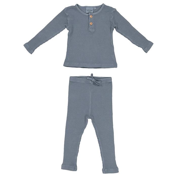 Moumout Paris Baby and Child Ours Bee Two Piece Pyjama Set