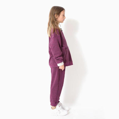Nico Nico Baby And Child Tinley Sweatshirt Berry Purple