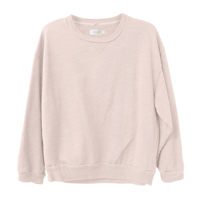 Nico Nico Woman Luc Fleece Sweatshirt Rose Pink