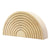 Ocamora Wooden Nine Piece Nesting Arch Natural