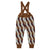 Oeuf Baby Double Suspender Pants Hazelnut Brown