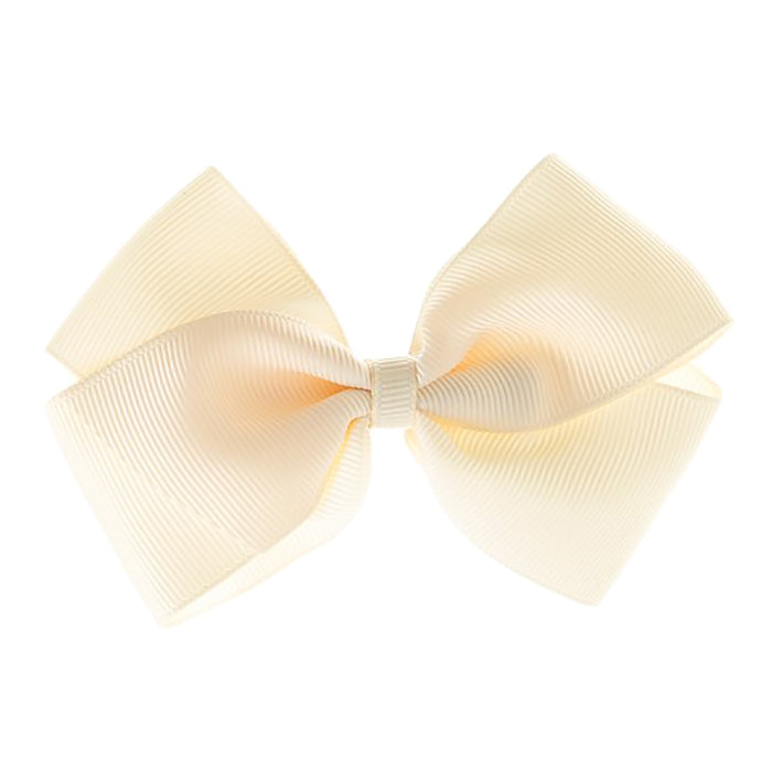 Olilia Hair Clip Large London Bow Ivory Cream