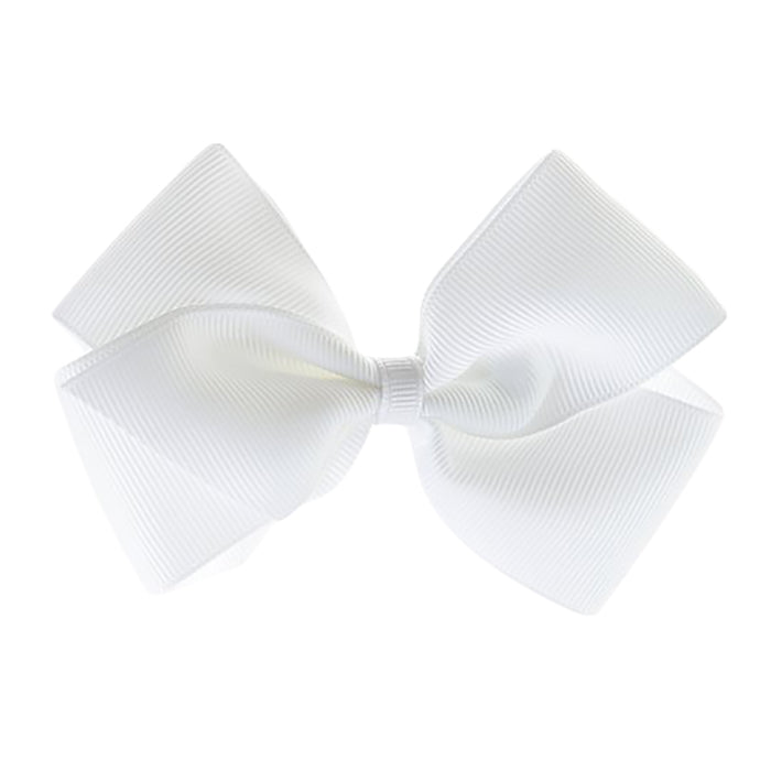 Olilia Hair Clip Large London Bow White