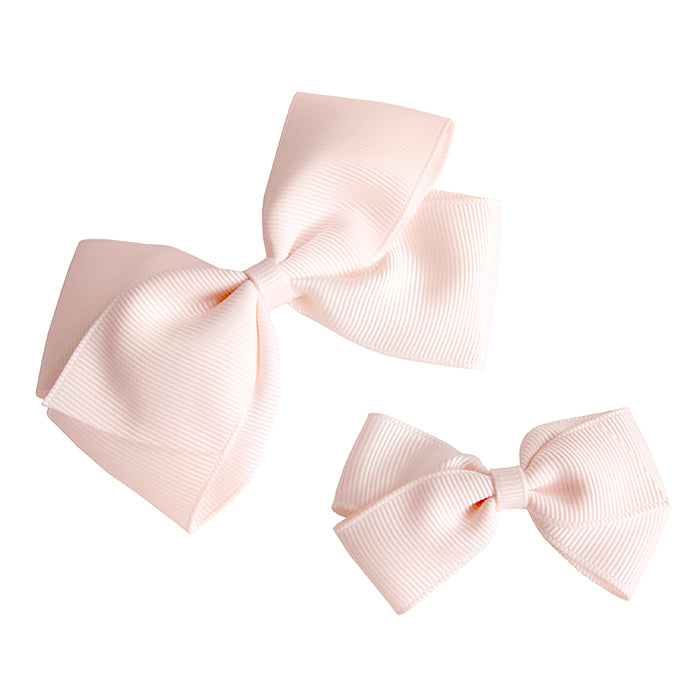 Olilia Hair Clip Large London Bow Sideshow Rose Pink