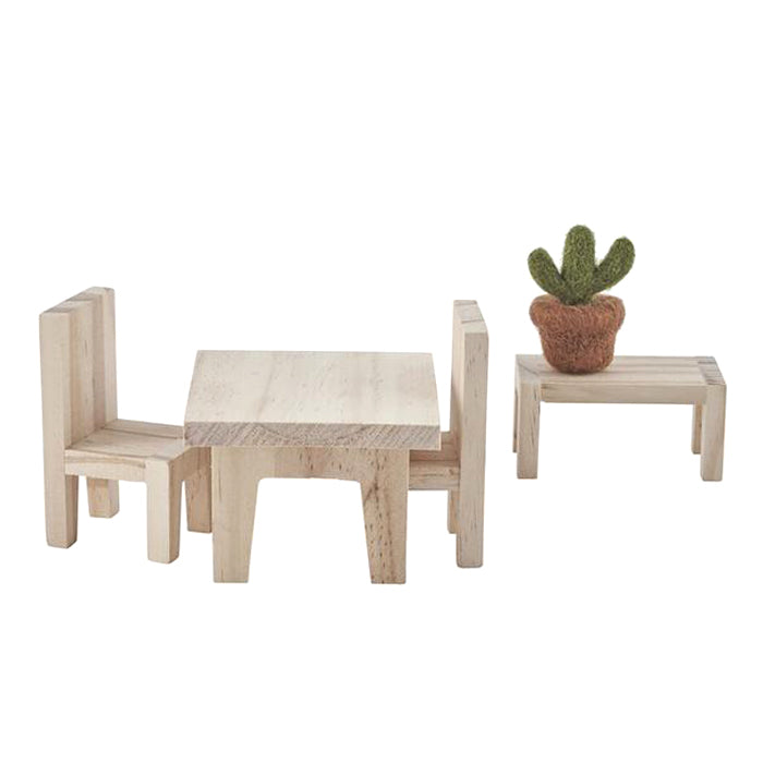 Olli Ella Holdie Doll House Furniture Dining Set