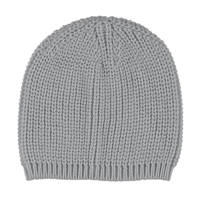 Pequeno Tocon Baby Chunky Knit Hat Grey