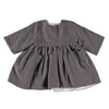 Pequeno Tocon Baby Micropana Long Sleeved Corduroy Dress Grey