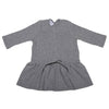 Pequeno Tocon Baby Long Sleeved Dress Grey