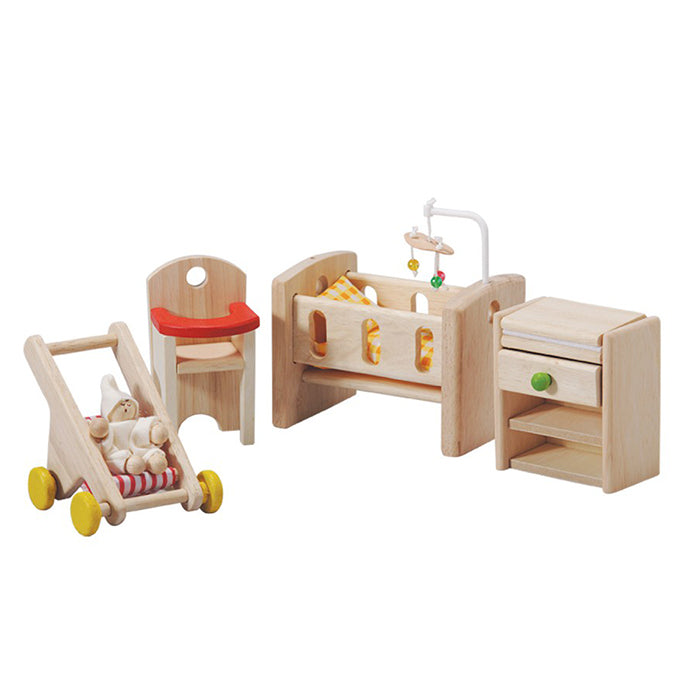 Plan Toys Doll House Furniture Nursery